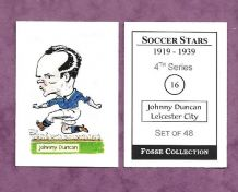 Leicester City Johnny Duncan 16 (FC)
